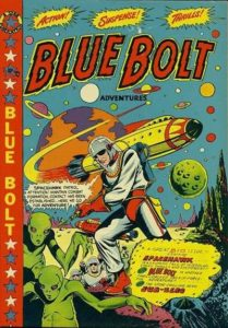 Blue-bolt-106-209x300 Auctions Out of the Blue! - Blue Bolt comics up for sale at Heritage