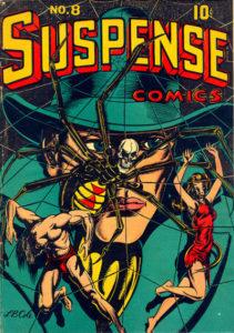 Suspense-Comics-2-211x300 Golden Age Suspense Comics on Auction with Heritage