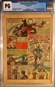 Captain-America-Comics-1-page-4-192x300 One Marvelous Page: Collecting the Single Pages from Marvel's Biggest Keys