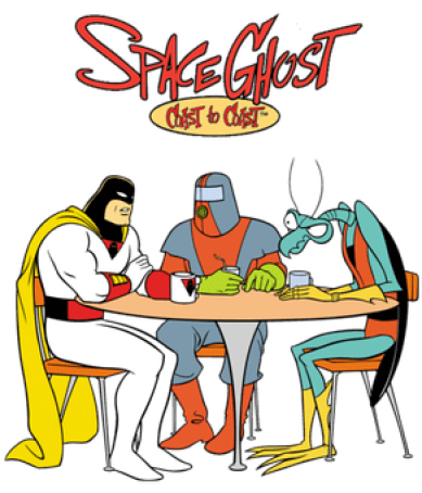 c2c Space Ghost: A Strange History Indeed