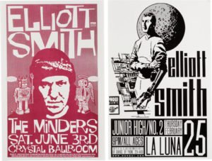 ElliottSmithMK-300x227 A Look at the Work of Poster Designer Mike King