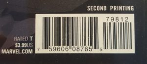 Second-Print-bar-code-300x131 Collecting 101: More Collectible Seconds
