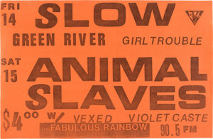animal-slaves-300x195 Walk the Long Road With These Pearl Jam Related Vintage Posters