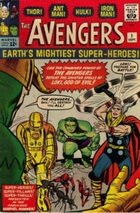 avengers1-197x300 September Back in '63 (What a Very Special Time for Me)