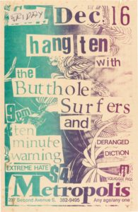 buttholesurfer-195x300 Walk the Long Road With These Pearl Jam Related Vintage Posters