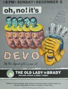 devoo-229x300 Exposing the Niche Art of Concert Posters