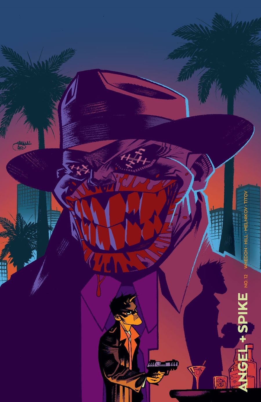 Angel_012_Cover_NoirVariant ComicList Previews: ANGEL AND SPIKE #12