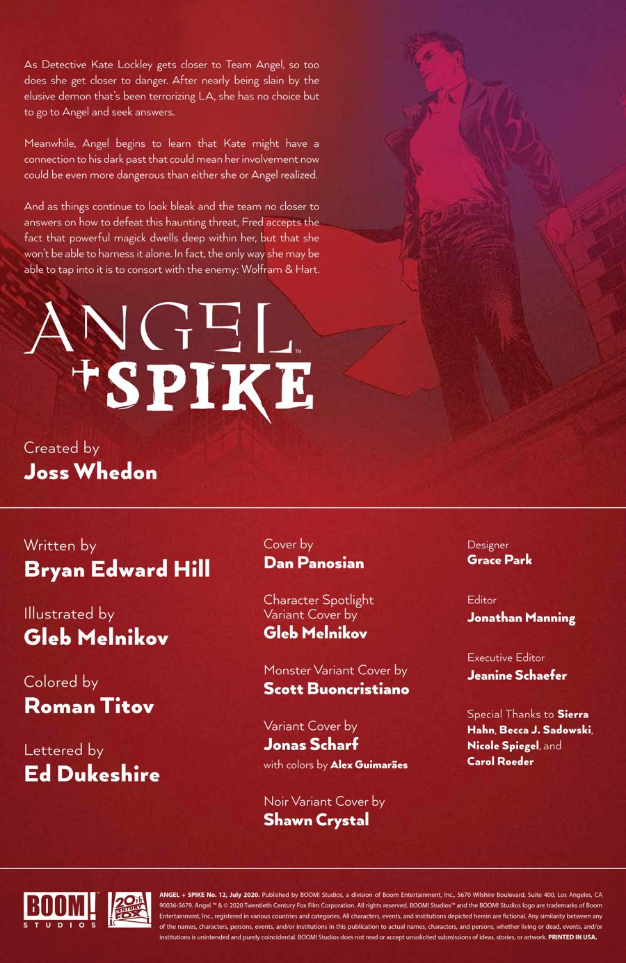 Angel_012_PRESS_2 ComicList Previews: ANGEL AND SPIKE #12