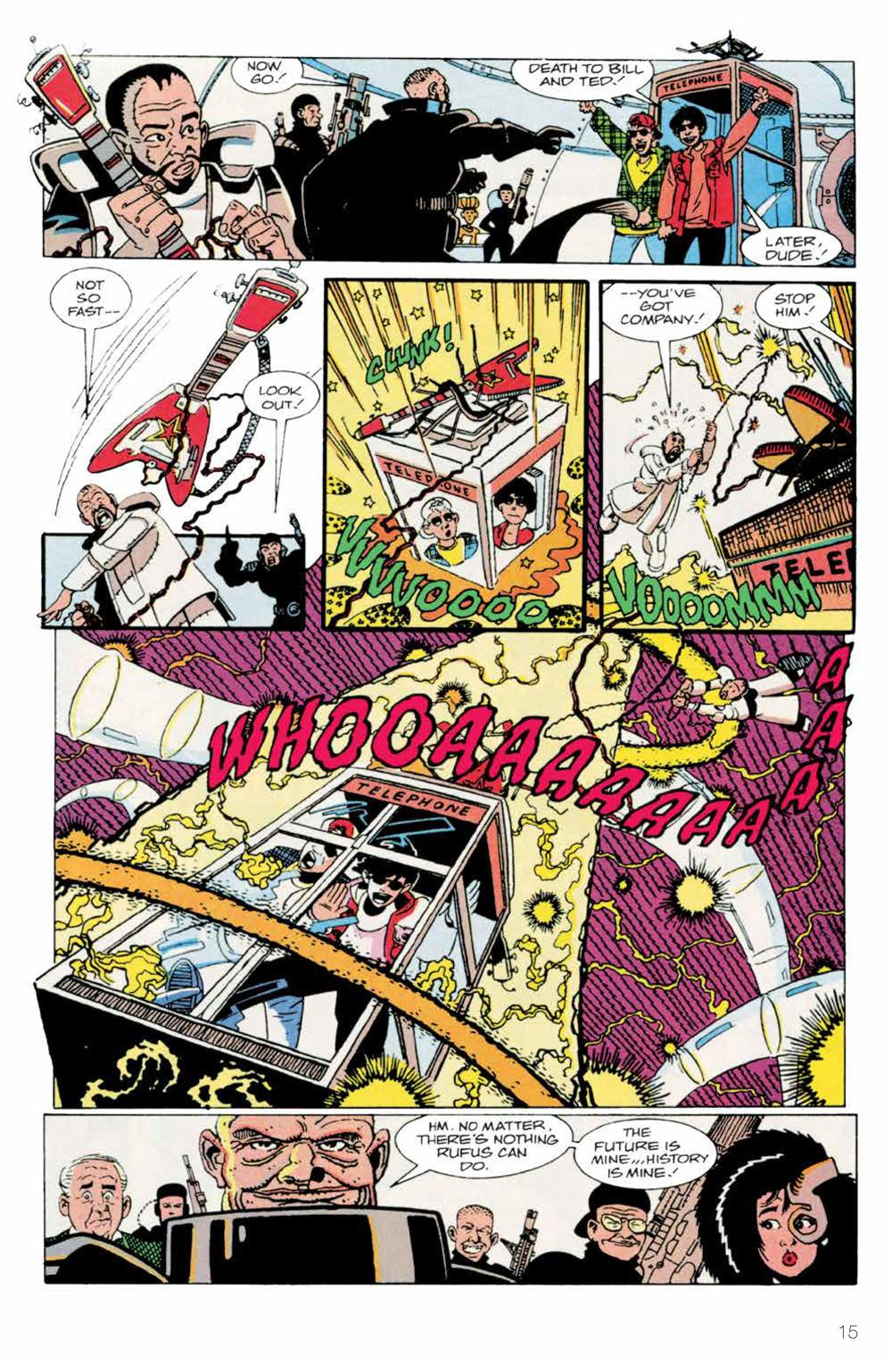 BillTed_Archive_SC_PRESS_17-1 ComicList Previews: BILL AND TED'S EXCELLENT COMIC BOOK ARCHIVE TP