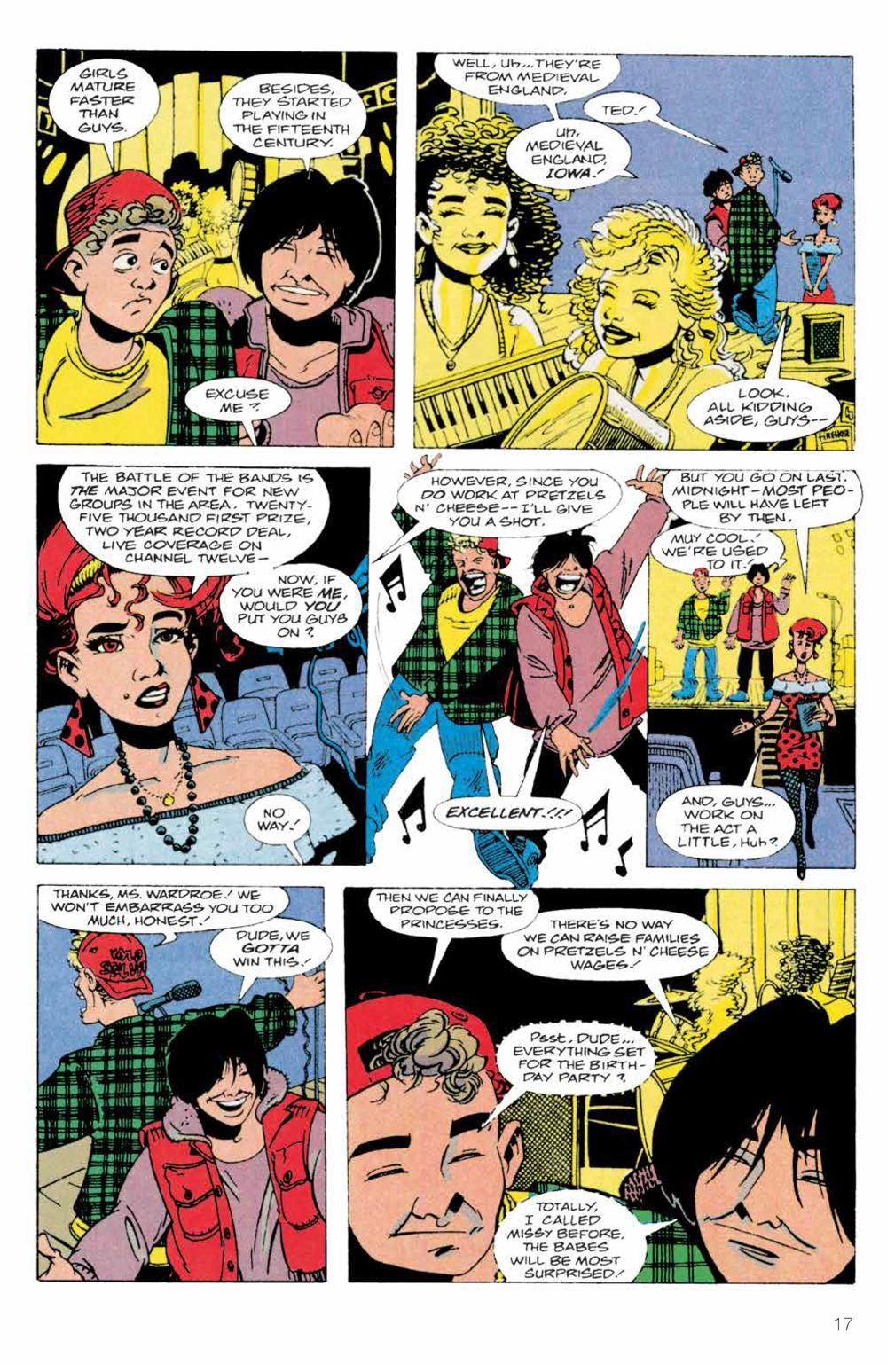 BillTed_Archive_SC_PRESS_19-1 ComicList Previews: BILL AND TED'S EXCELLENT COMIC BOOK ARCHIVE TP