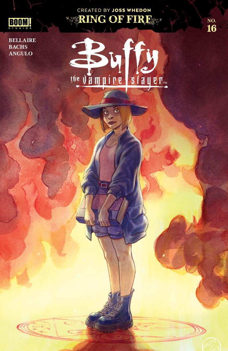Buffy_016_Cover_Main ComicList Previews: BUFFY THE VAMPIRE SLAYER #16