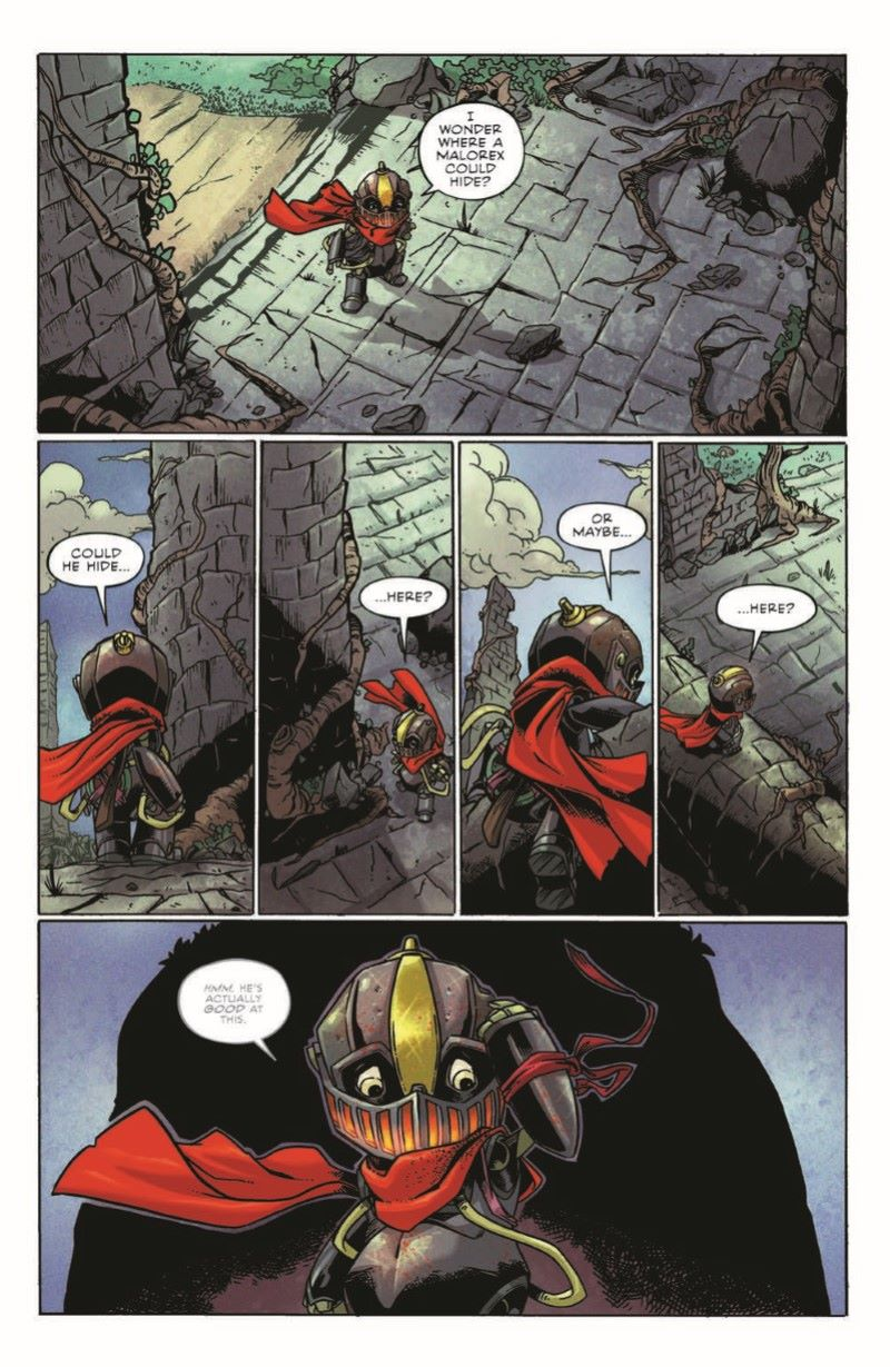 Canto-CWF_pr-4 ComicList Previews: CANTO AND THE CLOCKWORK FAIRIES #1