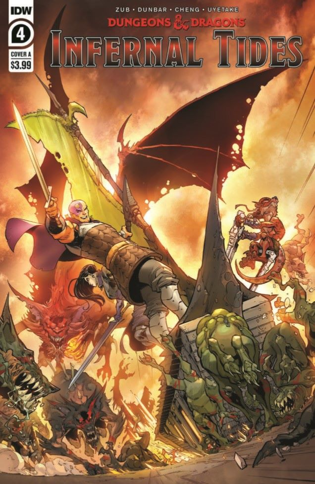 DD_IT04-pr-1 ComicList Previews: DUNGEONS AND DRAGONS INFERNAL TIDES #4
