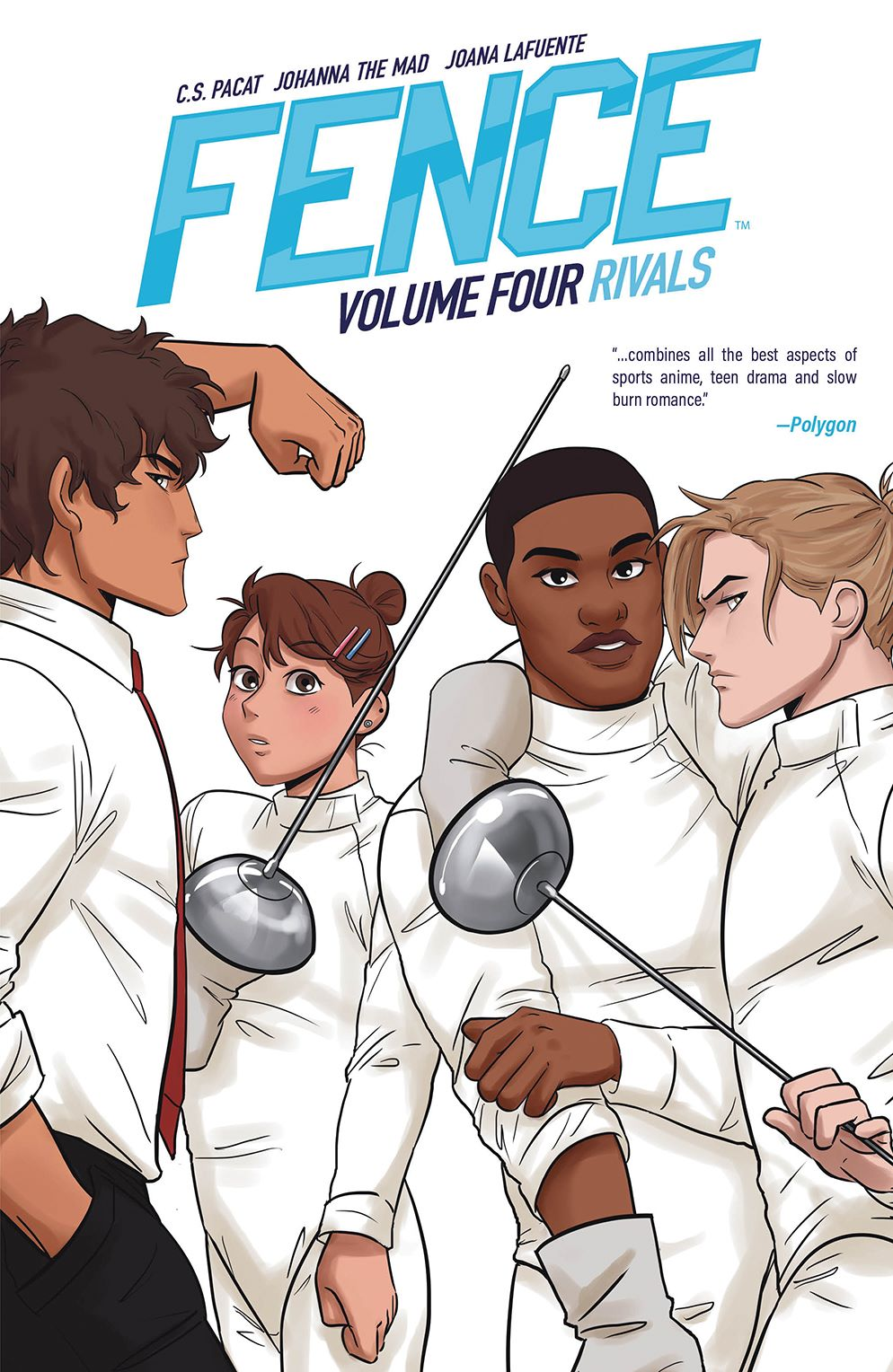 Fence_OGN_Rivals_Cover-1 ComicList Previews: FENCE RIVALS GN