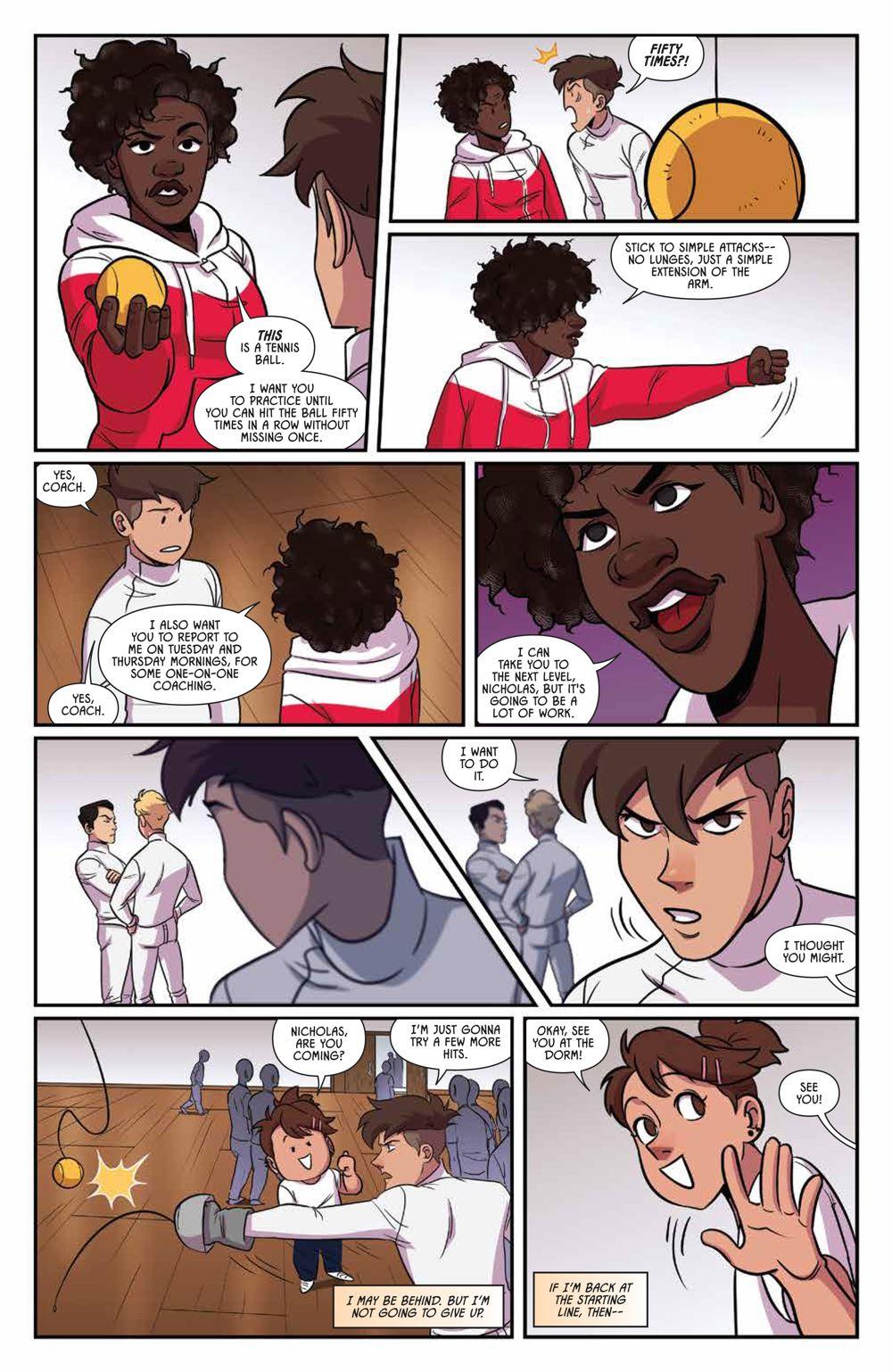 Fence_OGN_Rivals_SC_PRESS_19-1 ComicList Previews: FENCE RIVALS GN