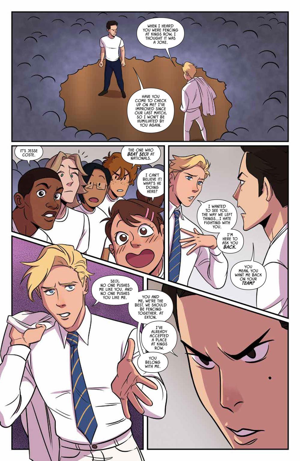 Fence_OGN_Rivals_SC_PRESS_9-1 ComicList Previews: FENCE RIVALS GN