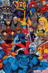 Jim-Lee-X-Men-poster-198x300 The Record-Setting X-Men #1