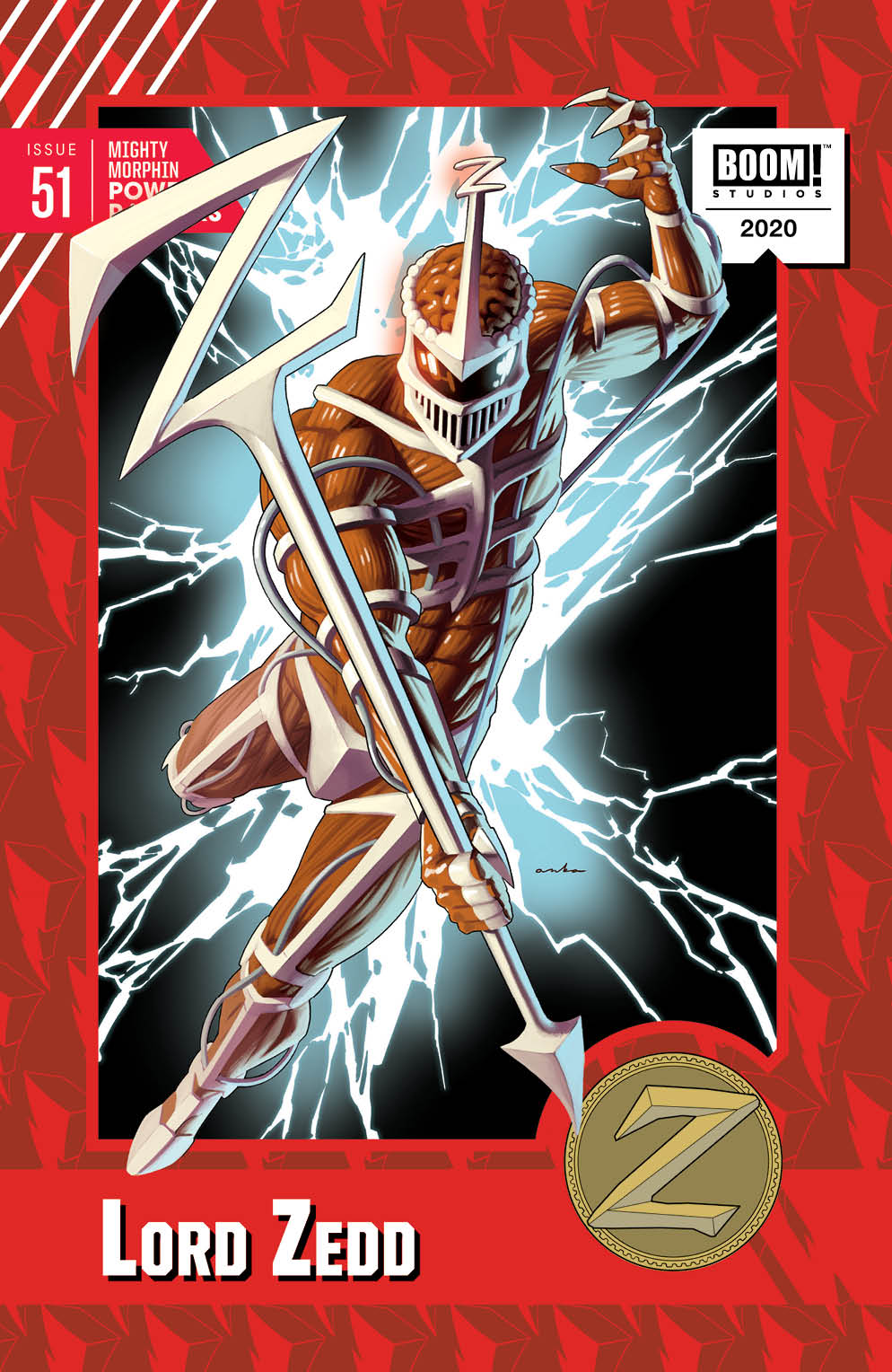 MMPR_051_Cover_TradingCard ComicList: BOOM! Studios New Releases for 07/15/2020
