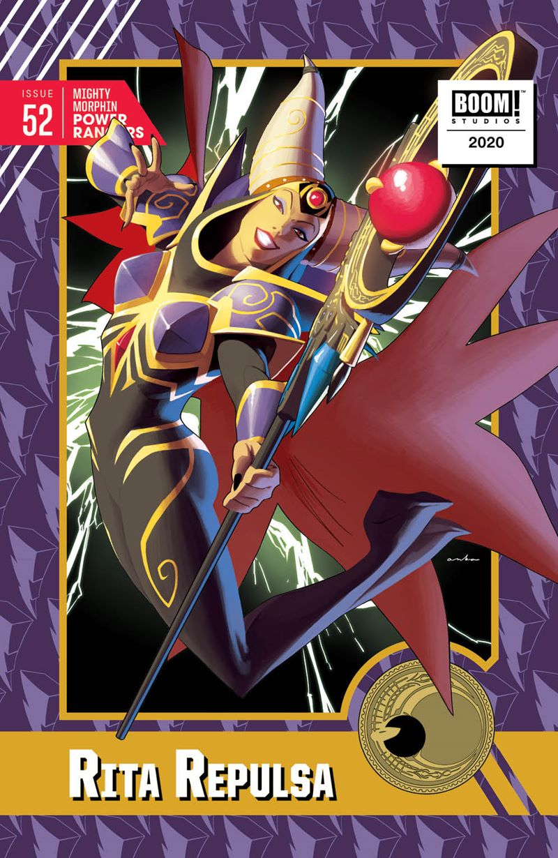 MMPR_052_Cover_TradingCard ComicList: BOOM! Studios New Releases for 07/29/2020