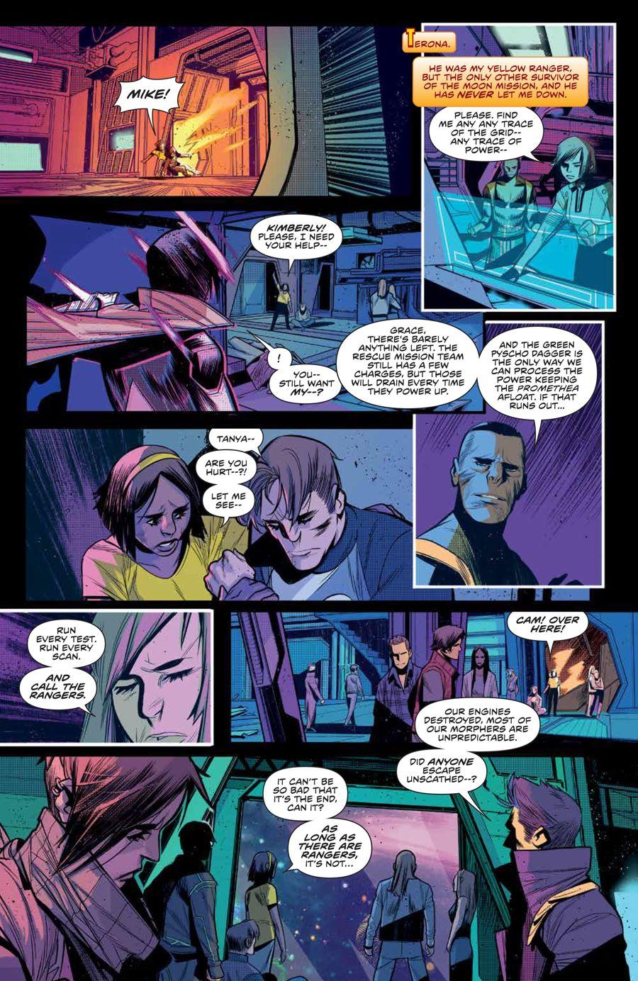 MMPR_BeyondGrid_SC_PRESS_16 ComicList Previews: MIGHTY MORPHIN POWER RANGERS BEYOND THE GRID TP