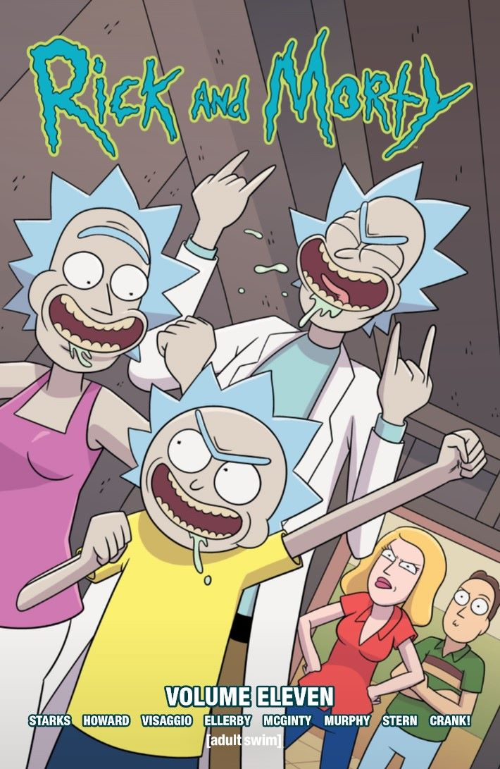 RICKMORTY-V11-TPB-REFERENCE-001 ComicList Previews: RICK AND MORTY VOLUME 11 TP