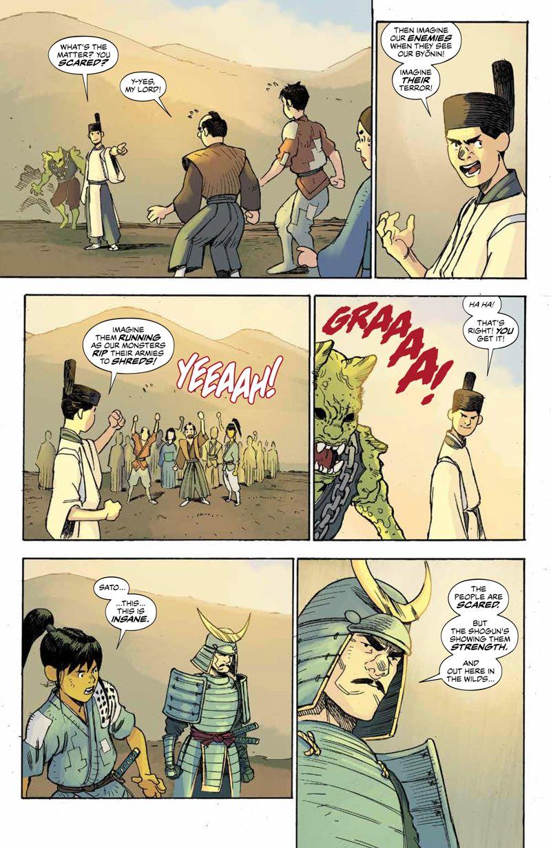 RoninIsland_v2_SC_PRESS_19 ComicList Previews: RONIN ISLAND VOLUME 2 TP