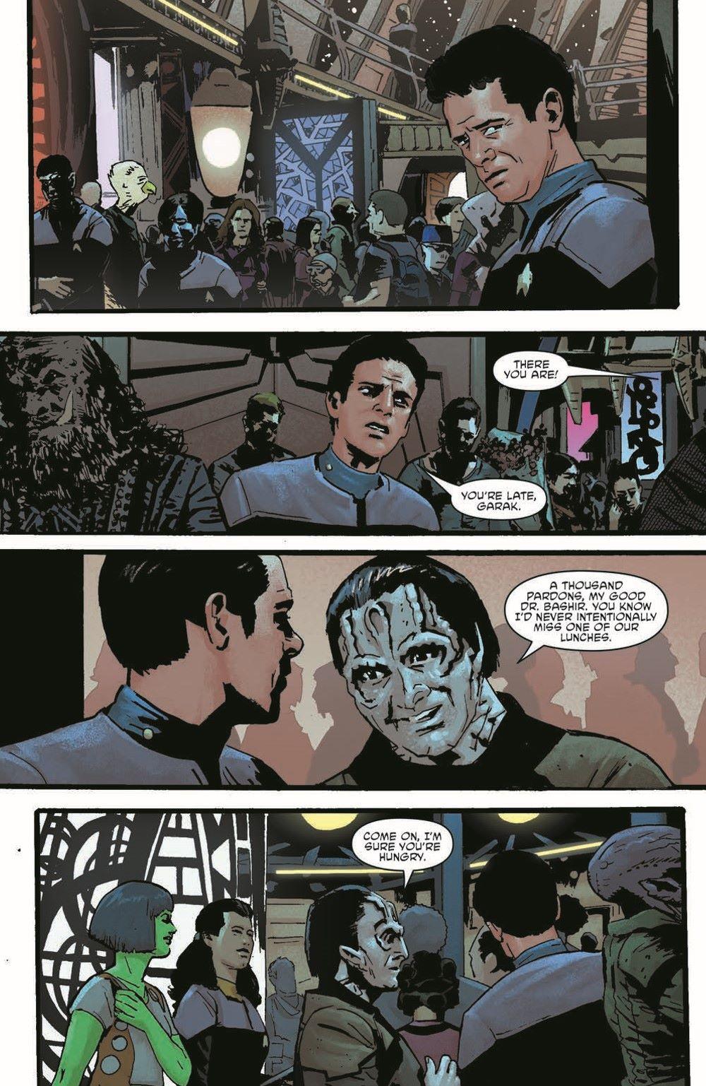 ST_DS9_01-pr-3 ComicList Previews: STAR TREK DEEP SPACE NINE TOO LONG A SACRIFICE #1