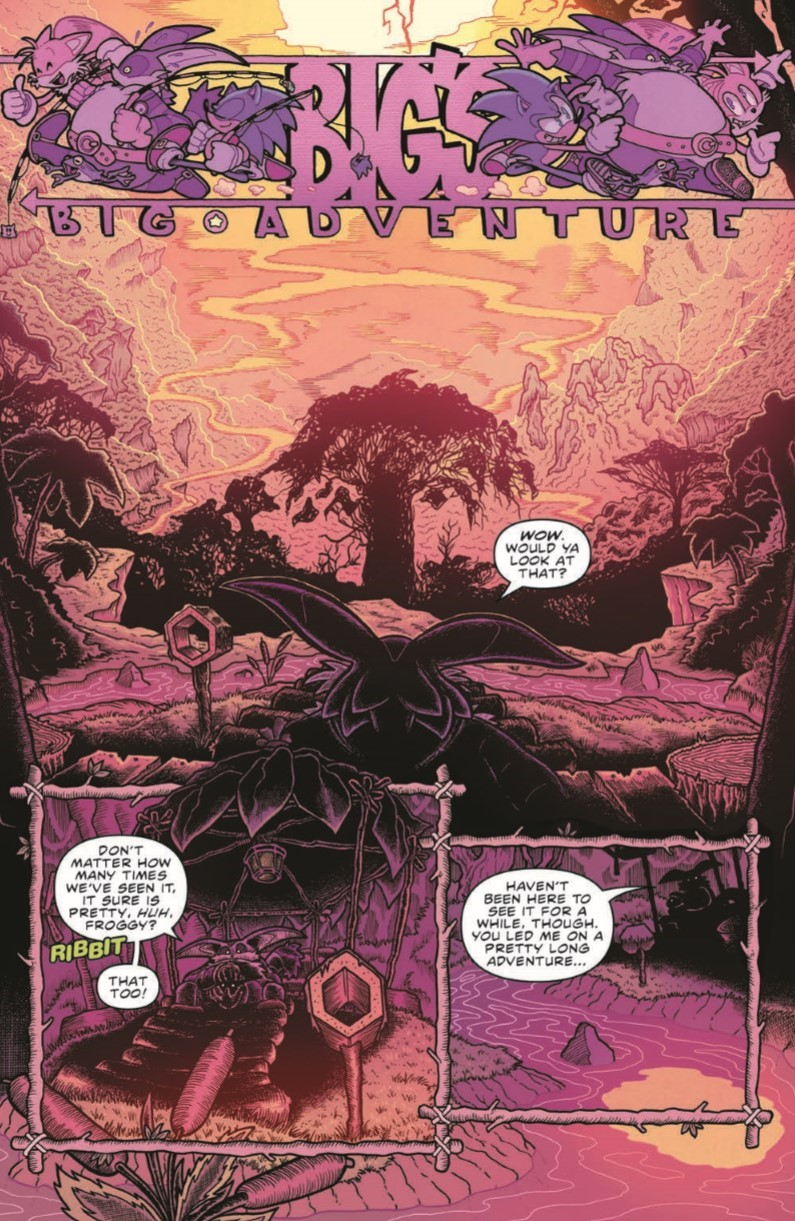 SonicAnnual2020_pr-3 ComicList Previews: SONIC THE HEDGEHOG ANNUAL 2020