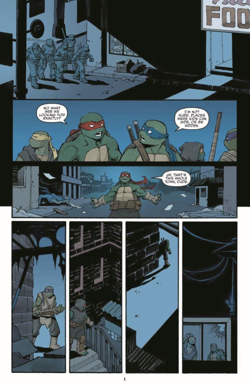 TMNT107_pr-4 ComicList Previews: TEENAGE MUTANT NINJA TURTLES #107