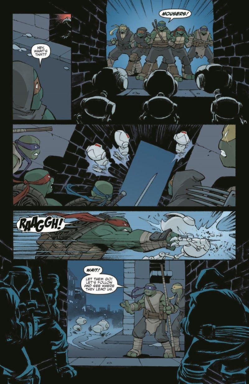 TMNT107_pr-5 ComicList Previews: TEENAGE MUTANT NINJA TURTLES #107