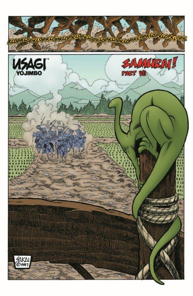 Usagi-CC04_pr-3 ComicList Previews: USAGI YOJIMBO COLOR CLASSICS #4