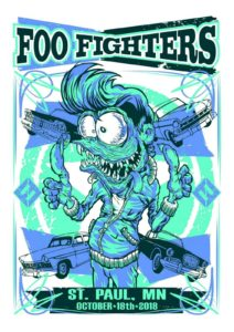 foo-fighters-2-212x300 Fighting to figure out which Foo Fighters poster to collect