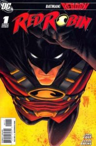 red-198x300 Tim Drake = Batman Beyond?