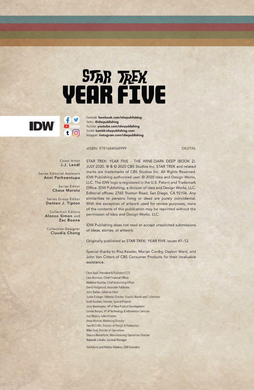 star-trek-year-five-the-wine-dark-deep-preview-2 ComicList Previews: STAR TREK YEAR FIVE VOLUME 2 THE WINE-DARK DEEP TP