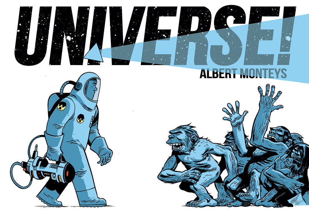 6311b67e-5ca6-425d-b843-f80493314640_c6815a0147f8285e3b5042ebb3626151 Eisner Award nominated series UNIVERSE! collected in print for the first time