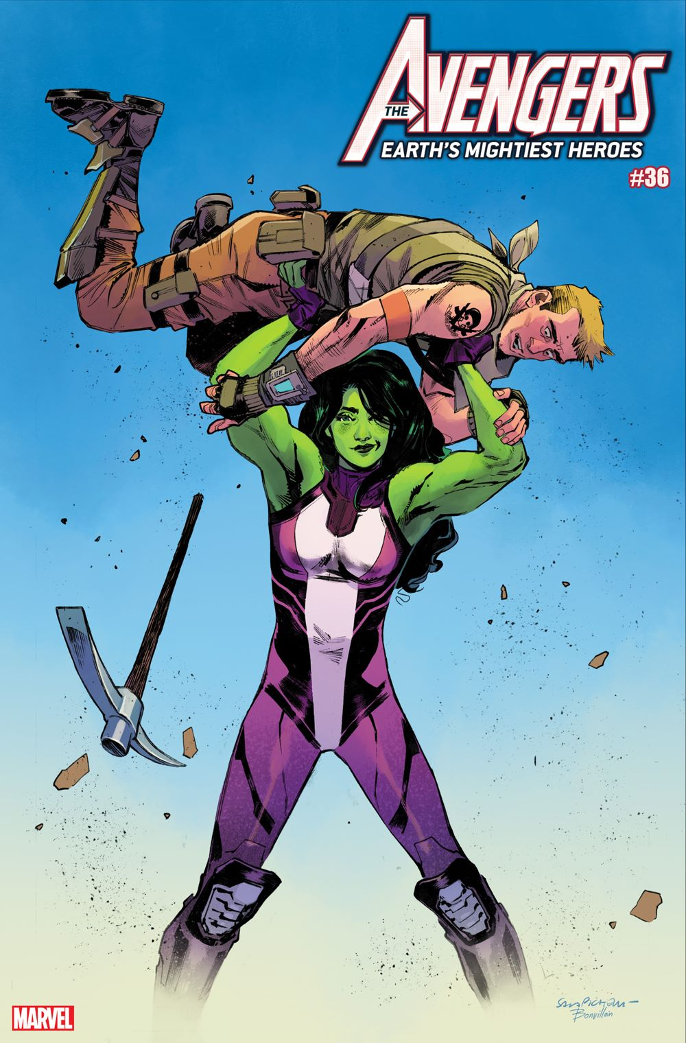 AVEN2018036_Pichelli_FortniteVariant Marvel and Fortnite characters unite on special variant covers