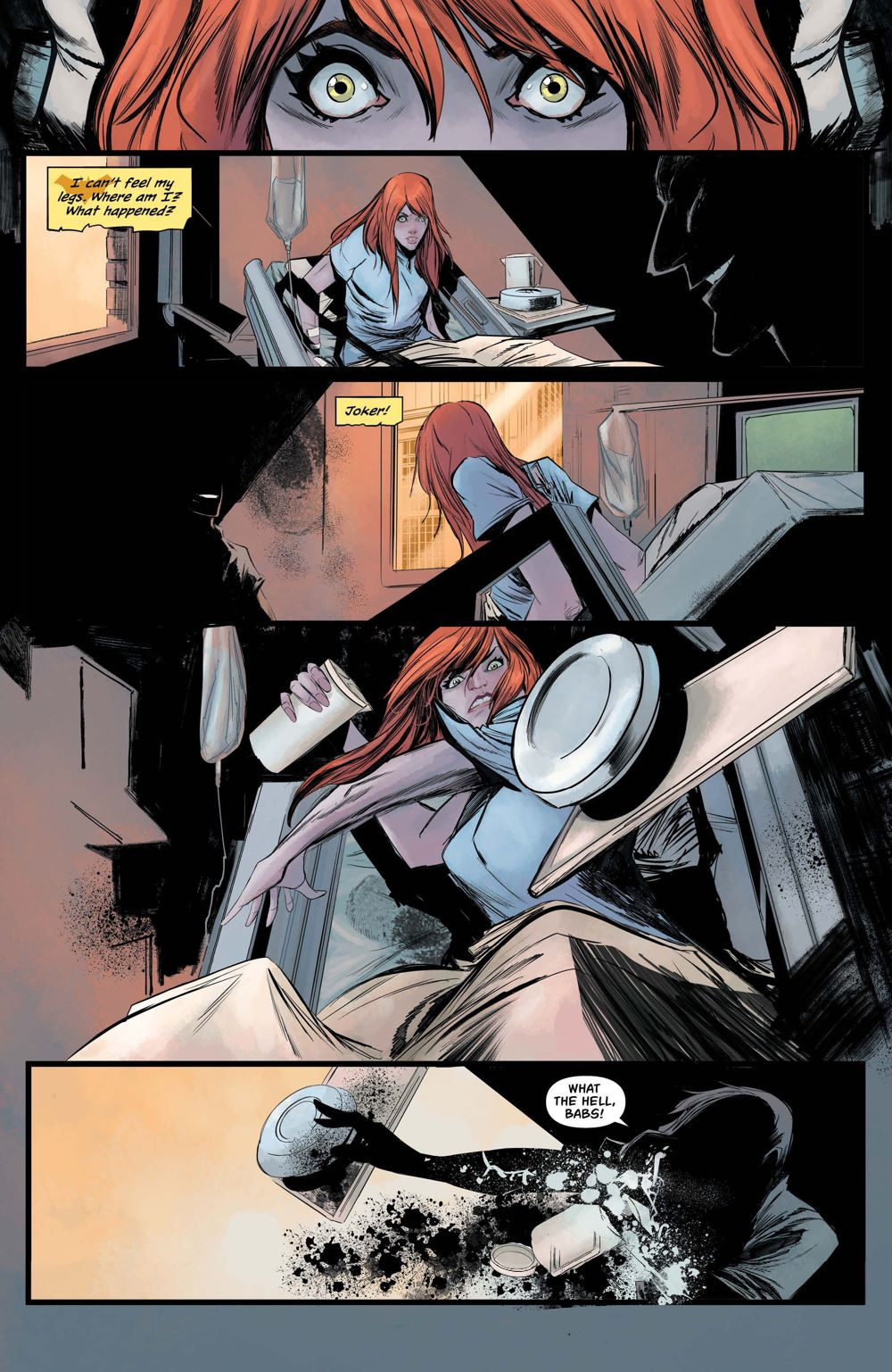 BG-48-4 ComicList Previews: BATGIRL #48