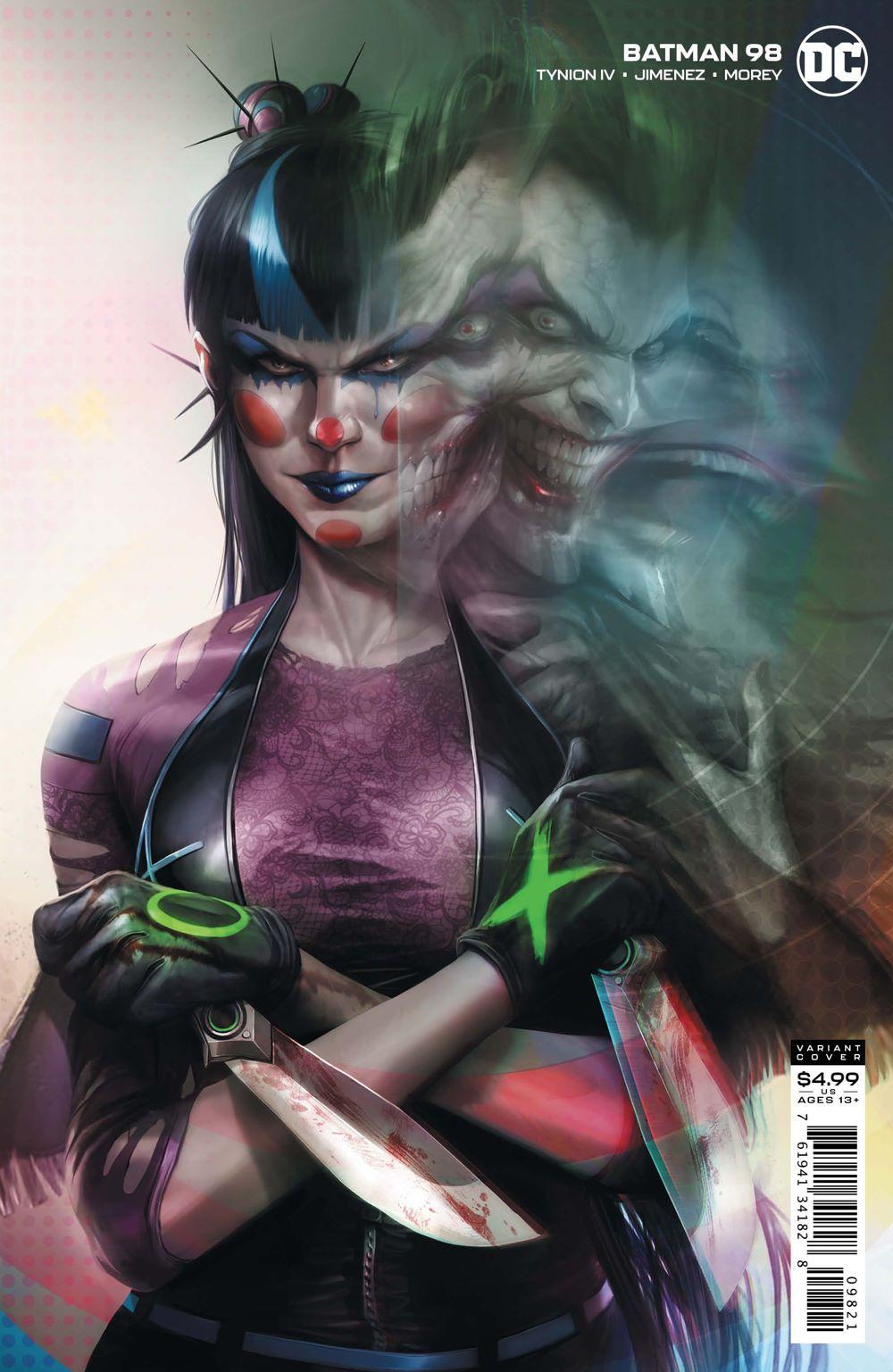 BM-Cv98-var ComicList Previews: BATMAN #98
