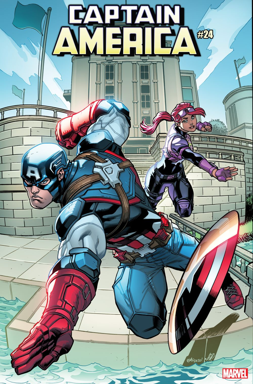 CAPA2018024_McGuiness_FortniteVariant Marvel and Fortnite characters unite on special variant covers