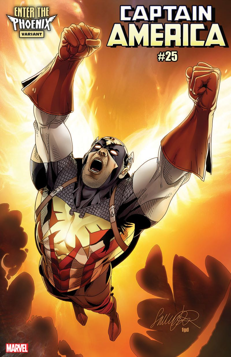 CAPTAIN-AMERICA-25-LAROCCA-CAPTAIN-AMERICA-PHOENIX-VARIANT The Phoenix claims new hosts in these variant covers