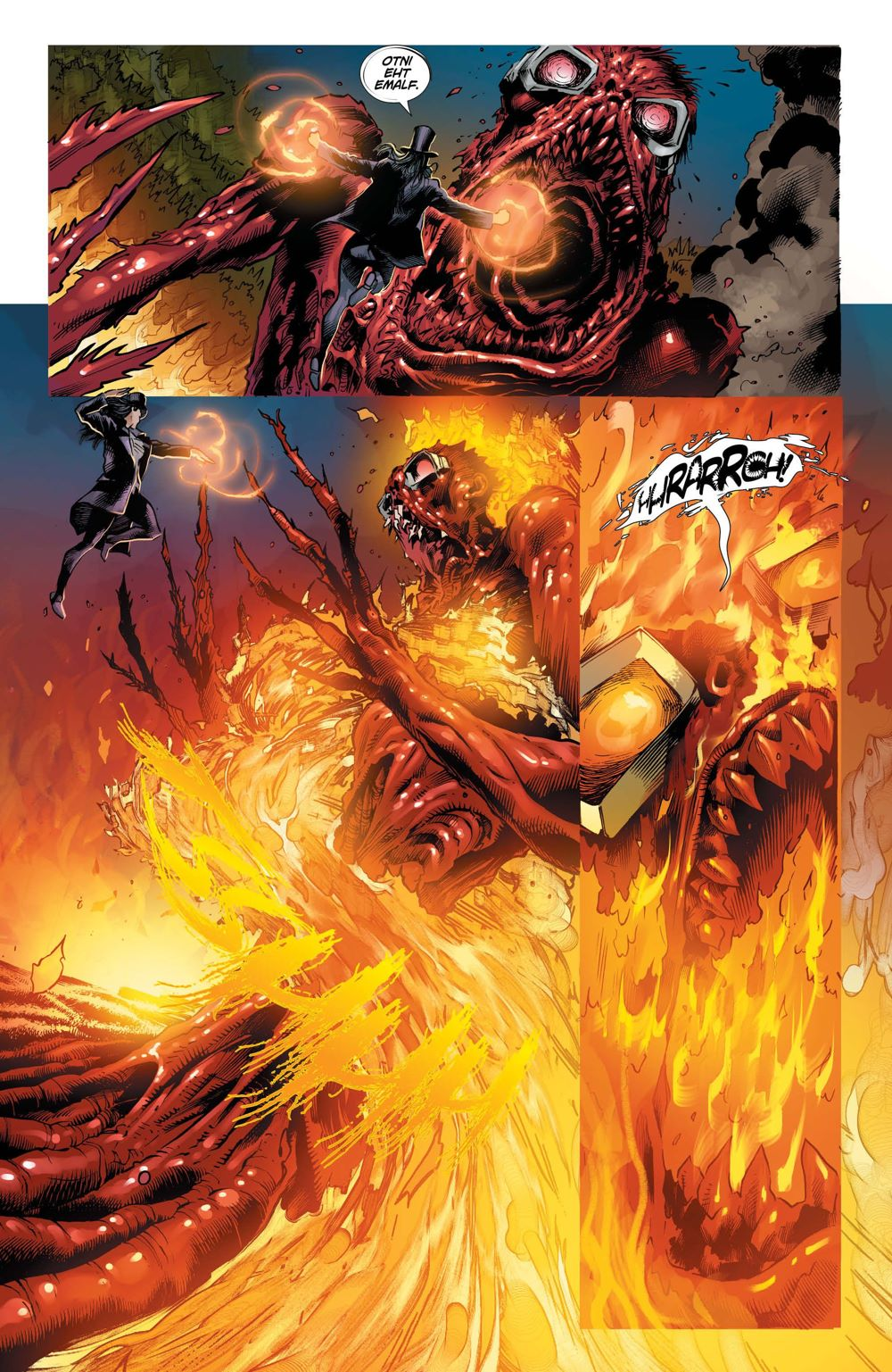 DCEASEDDP-3-4 ComicList Previews: DCEASED DEAD PLANET #3