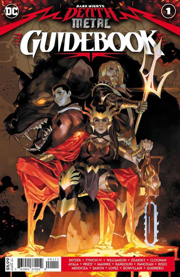 DNDM-GUIDEBOOK-Cv1 ComicList Previews: DARK NIGHTS DEATH METAL GUIDEBOOK #1