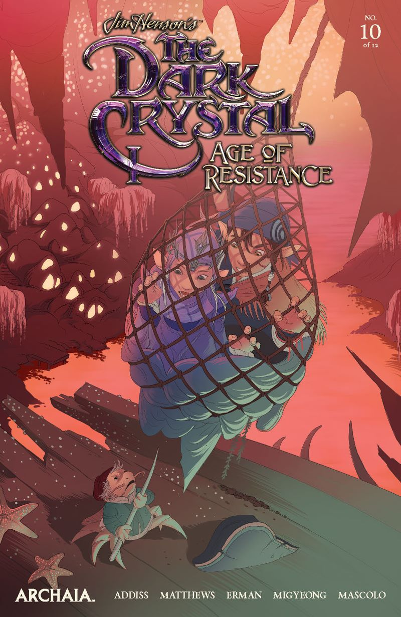 DarkCrystal_AgeResistance_010_Cover_Main ComicList Previews: JIM HENSON'S THE DARK CRYSTAL AGE OF RESISTANCE #10