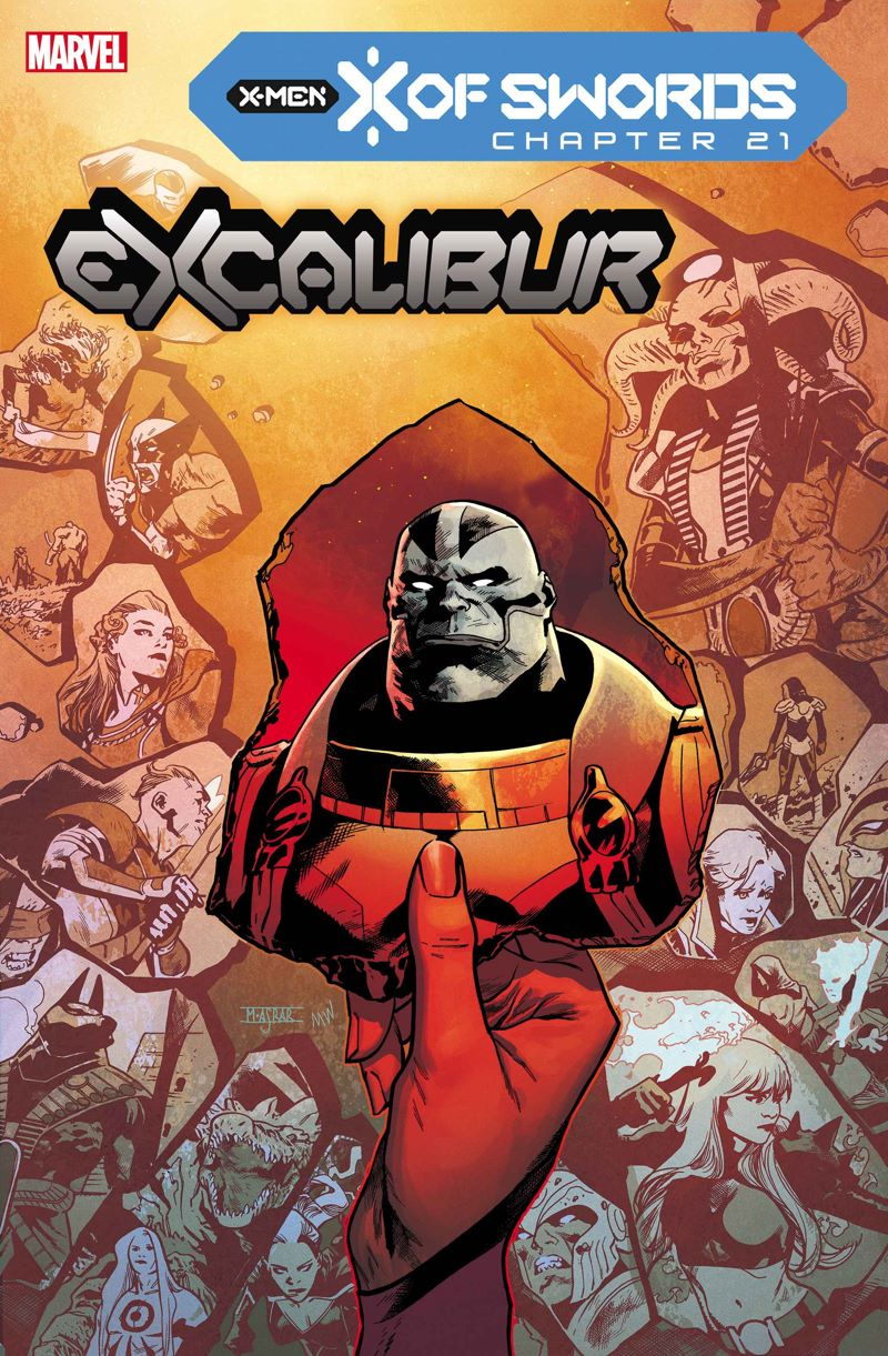 EXCAL2019015_cov Marvel Comics releases November X OF SWORDS covers