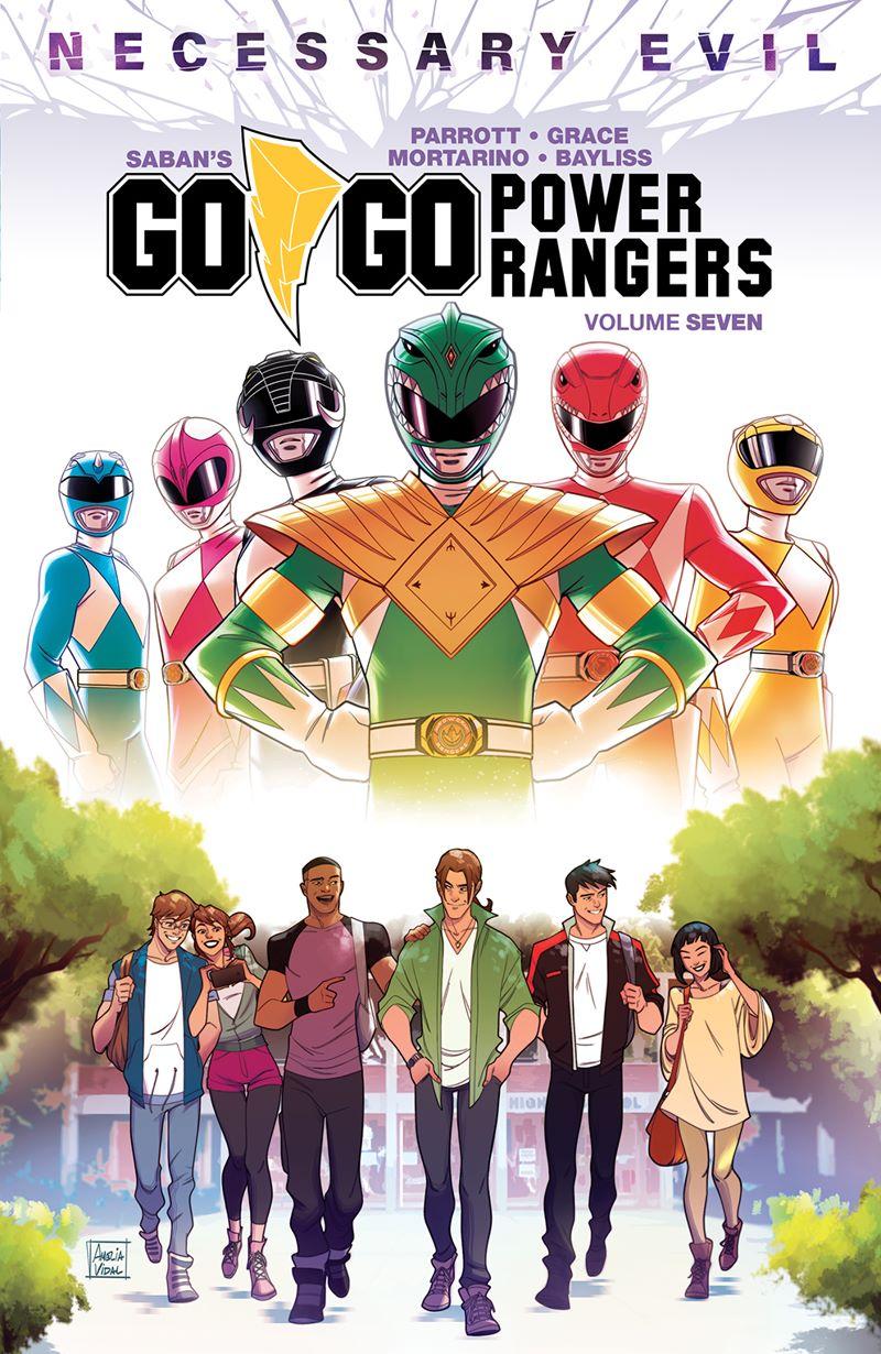GoGoPowerRangers_v7_SC_Cover ComicList Previews: SABAN'S GO GO POWER RANGERS VOLUME 7 TP