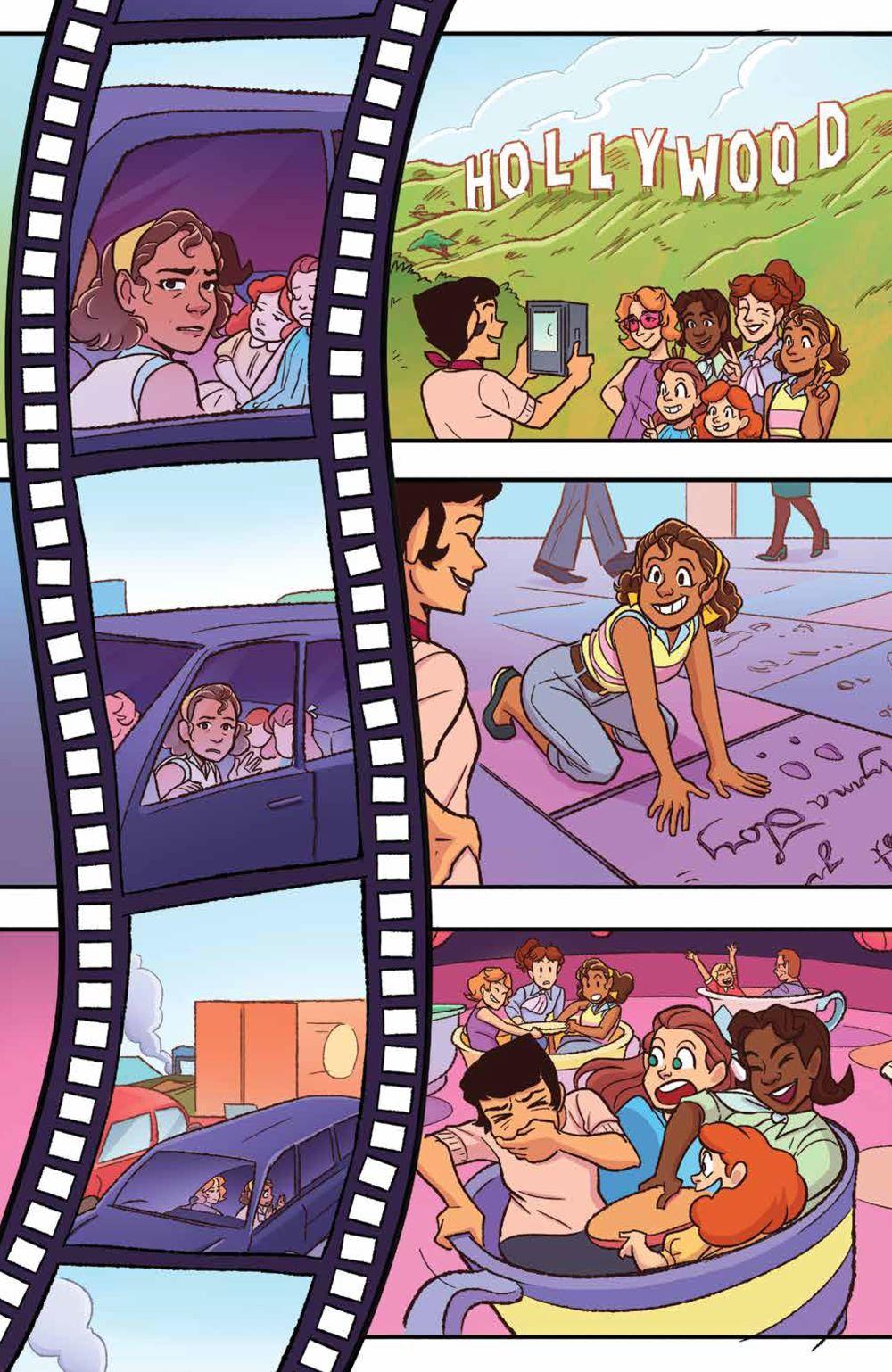GoldieVance_OGN_LaLaLarceny_SC_PRESS_14 ComicList Previews: GOLDIE VANCE VOLUME 5 LARCENY IN LA LA LAND TP