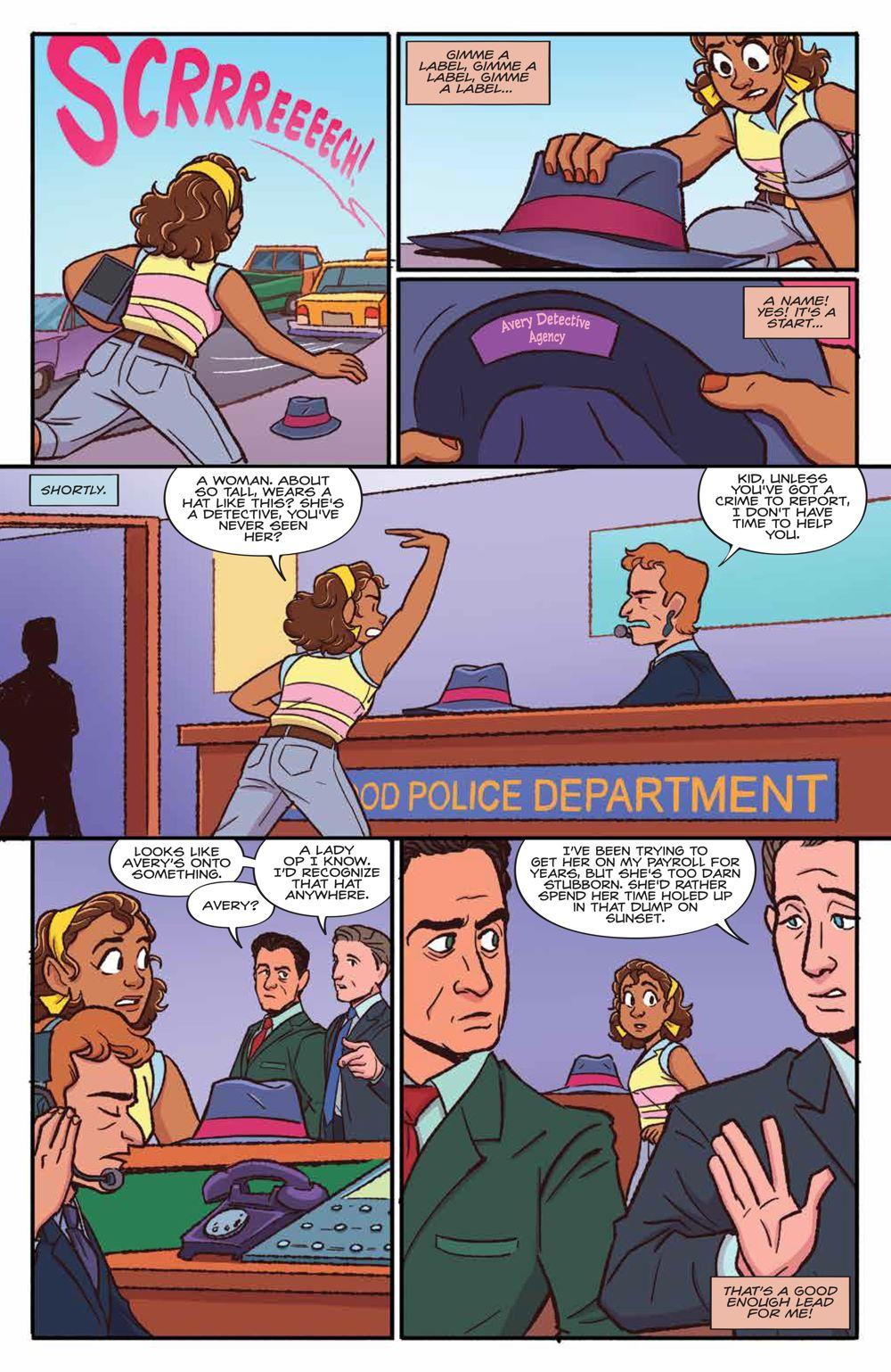 GoldieVance_OGN_LaLaLarceny_SC_PRESS_17 ComicList Previews: GOLDIE VANCE VOLUME 5 LARCENY IN LA LA LAND TP
