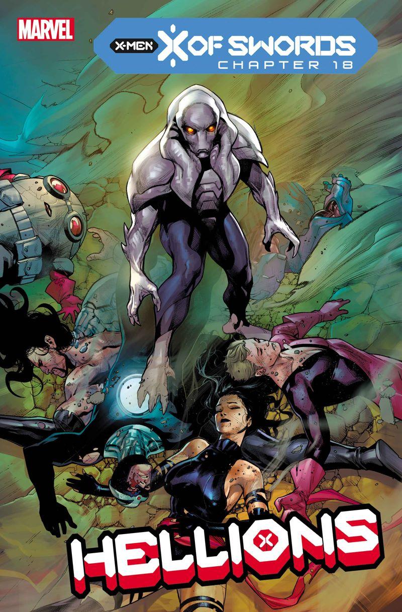 HELLIONS2020006_COV Marvel Comics releases November X OF SWORDS covers
