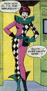 Harlequin-Intro-156x300 Prototypes in Comics: Inspiration For 3 Popular Characters