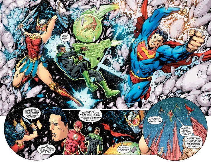 JL-50-2-3 ComicList Previews: JUSTICE LEAGUE #50